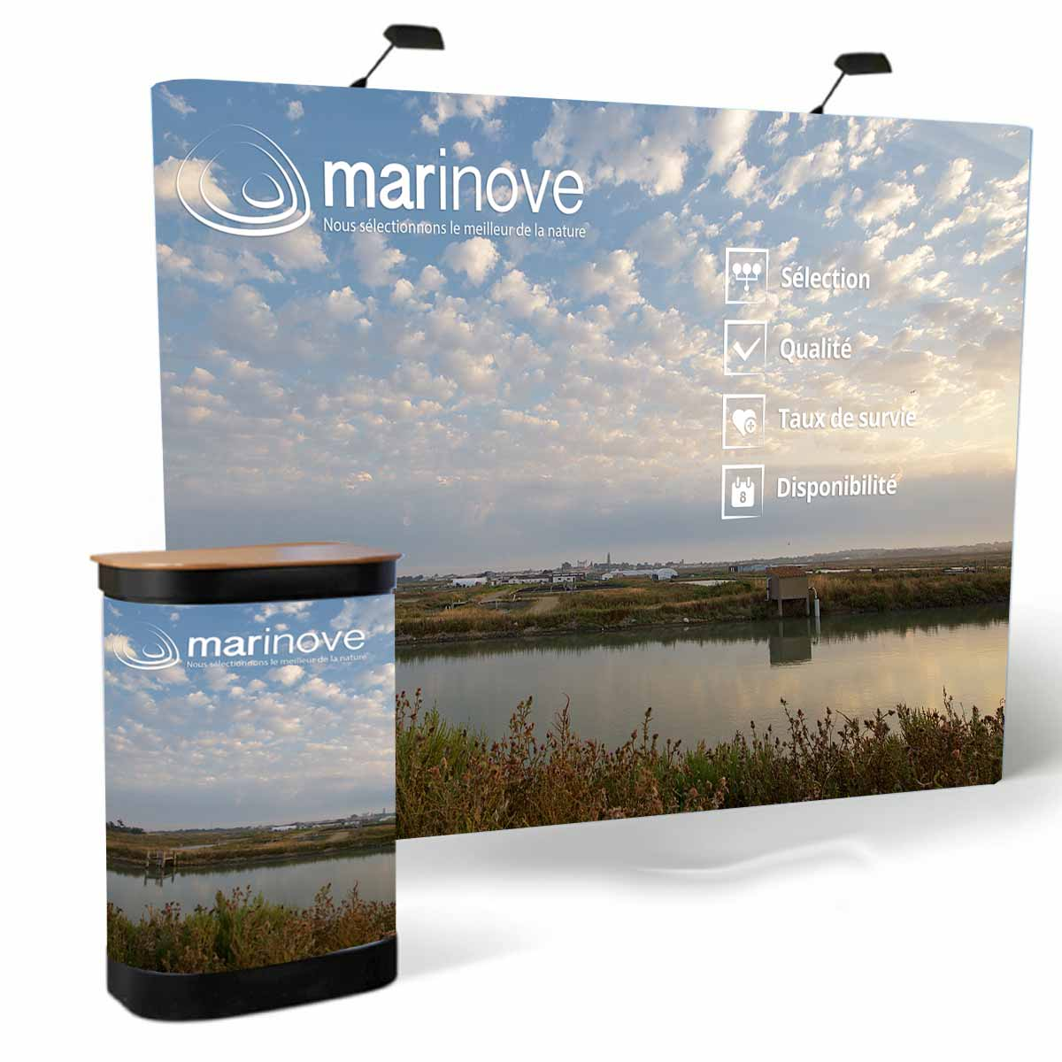 marinove is present at trade fairs